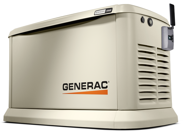 Generator with mobile link