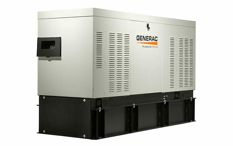 Larger commercial generator