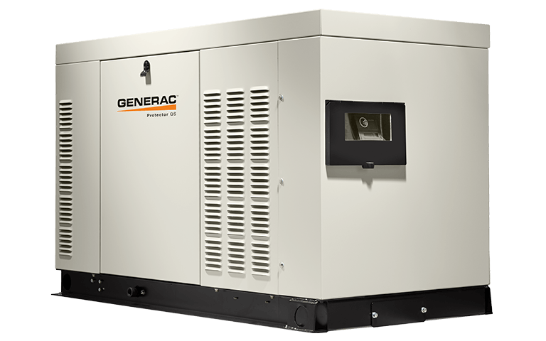 Other side of generac