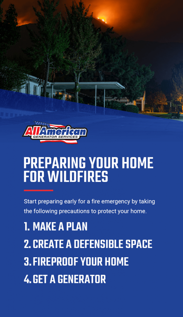 Preparing Your Home for Wildfires